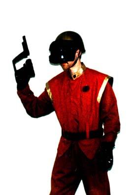 V gold trooper costume, Authentic prop, skyfighter, model prop