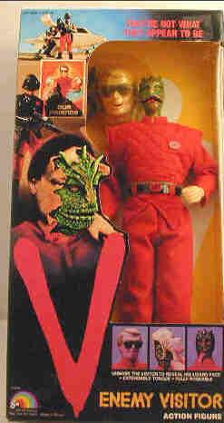 V TV series toy, Spanish gun, Visitor action figure, LJN