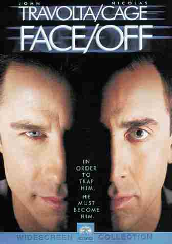 Face Off movie review, Face-Off film, Face/Off, FACE OFF.